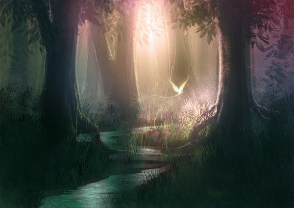 another forest speedpainting by Izaskun