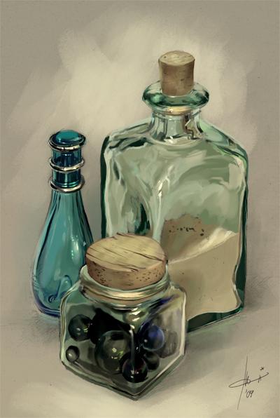 colored glass by Izaskun