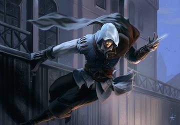 Assassins Creed 2 : Ezio by Izaskun