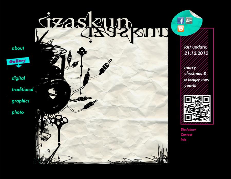 NEW WEBSITE by Izaskun