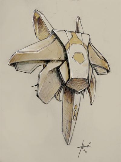 spacecraft n1 by Izaskun