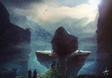 The Dragon Heart Rock by Izaskun