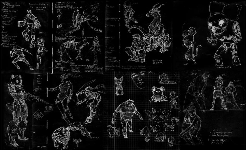 Sketches April by Izaskun