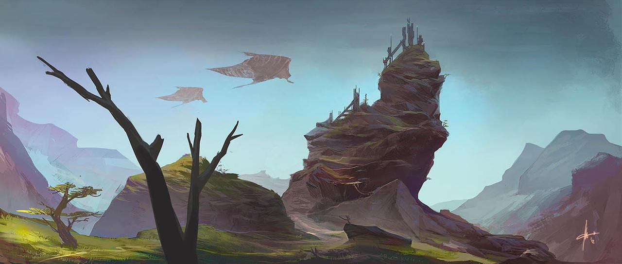 Neptune's Valley by Izaskun