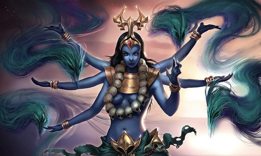Image result for goddess kali digital art