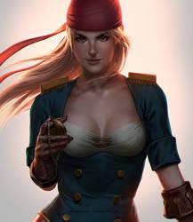 Caprice Fanart by Izaskun