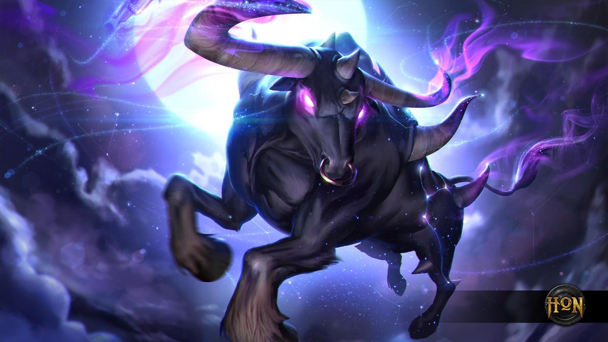 Heroes of Newerth - Taurus Magmoose by Izaskun