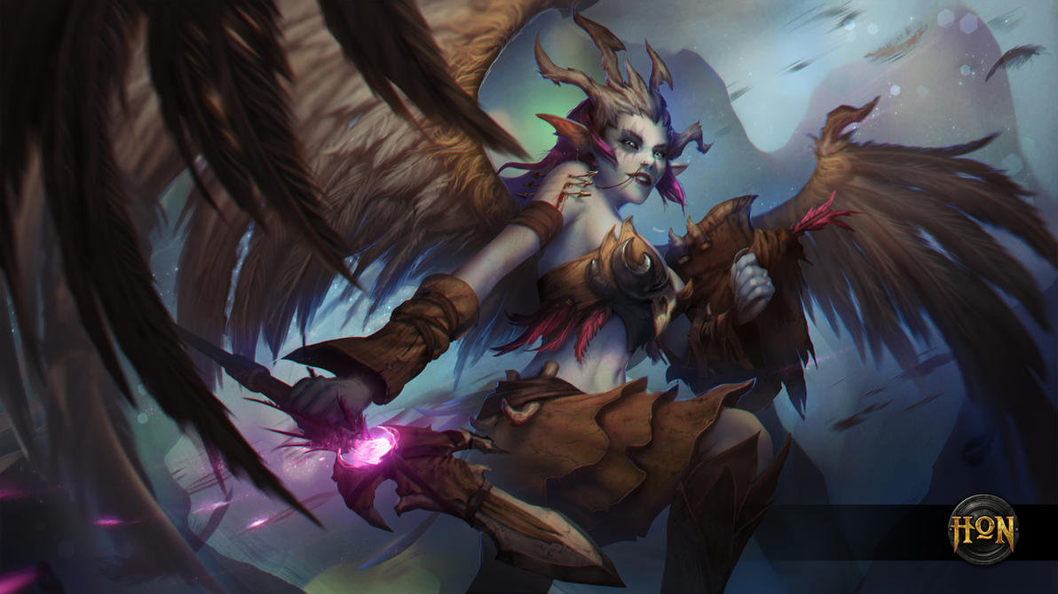 Heroes of Newerth - SKIVER VALKYRIE by Izaskun