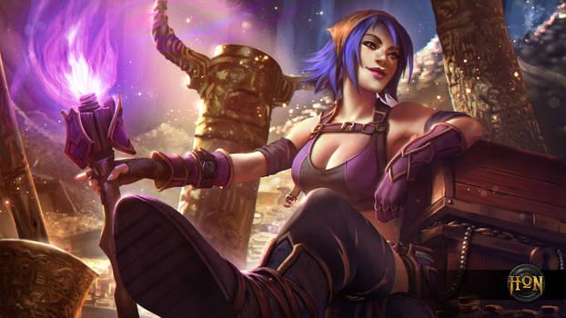 Heroes of Newerth - Treasure Hunter Hag