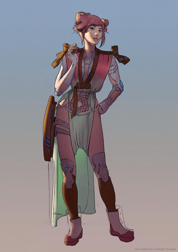 Character Concept by Izaskun