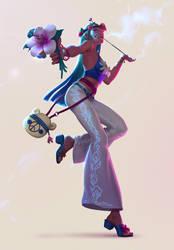 Hippie - FB Character Design Challenge