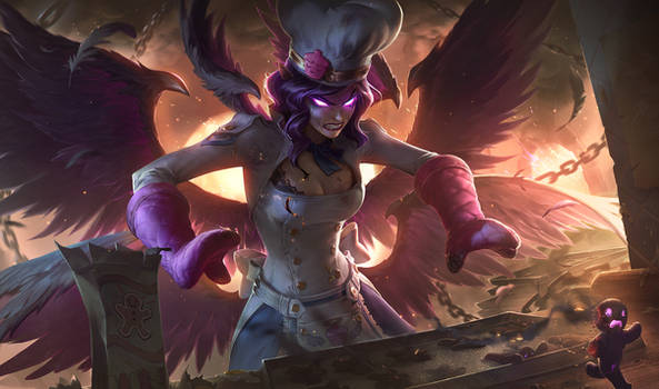 Sinful Succulence Morgana - League of Legends