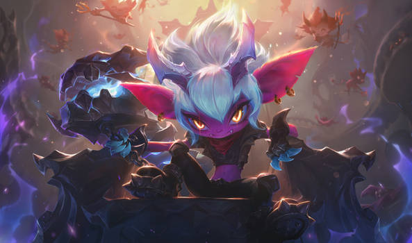 Little Demon Tristana - League of Legends