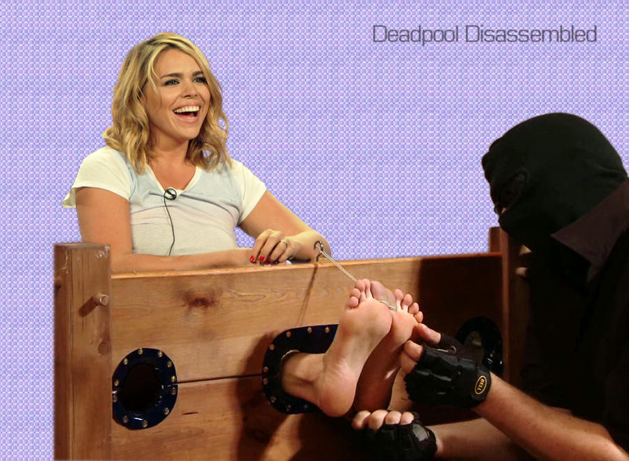 Billie Piper: TICKLE TORTURE by DeadpoolDisassembled