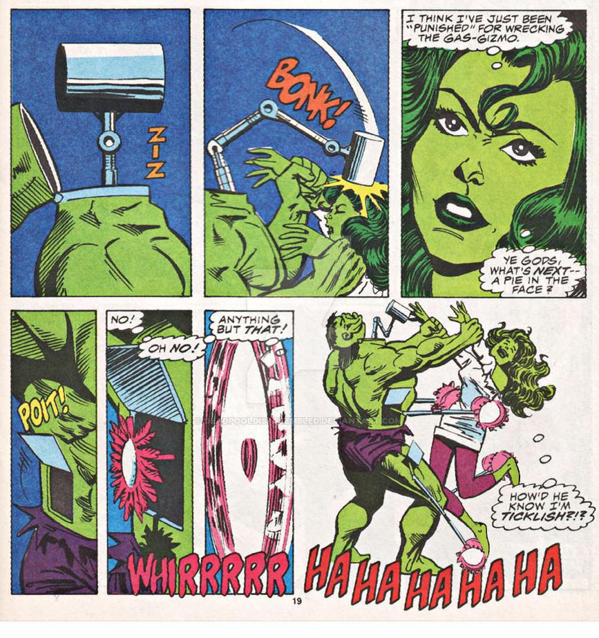 An Edit Of She Hulk Scan By DeadpoolDisassembled On DeviantArt