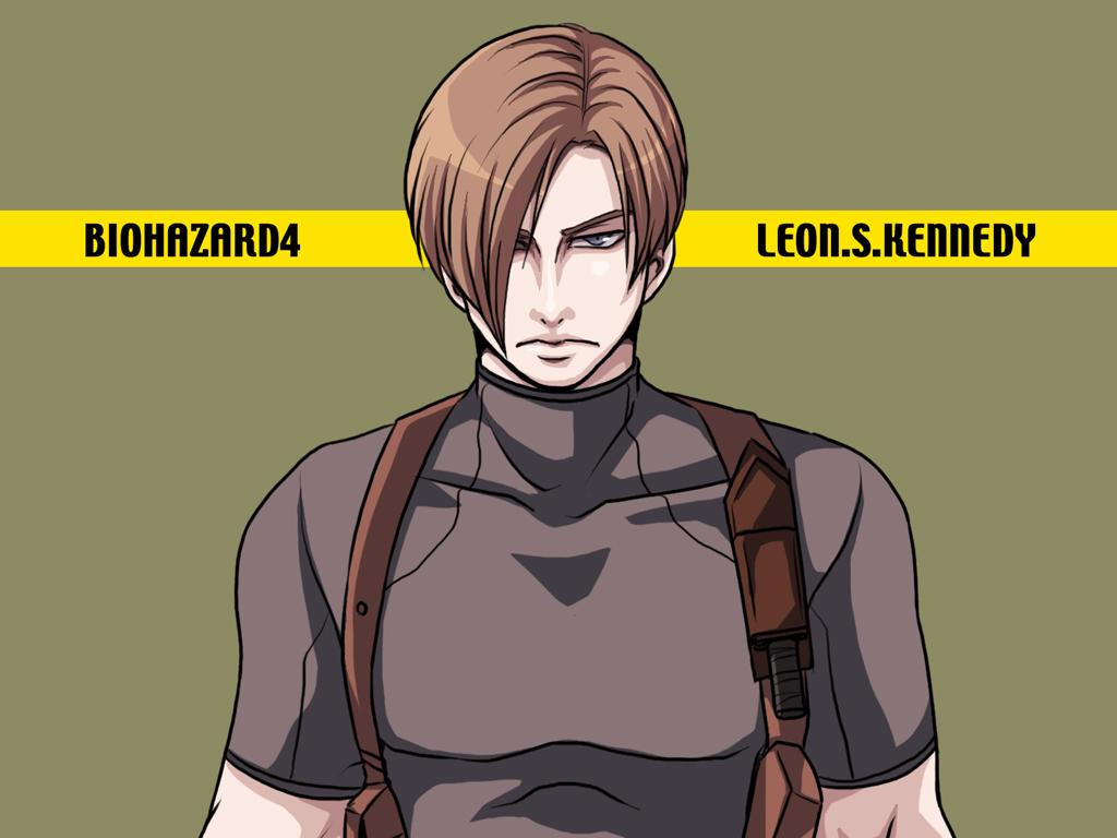 Leon S Kennedy Resident Evil4 By 00sakon00 On Deviantart