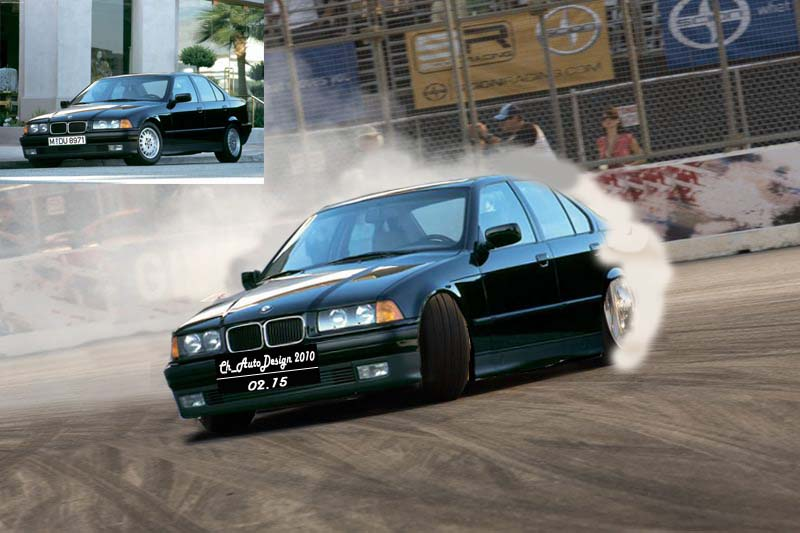 Bmw 3 Series E36 Drift By Chrisknockout On Deviantart