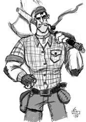 He's a Lumberjack and he's OK