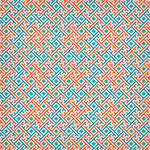 Square based geometric pattern