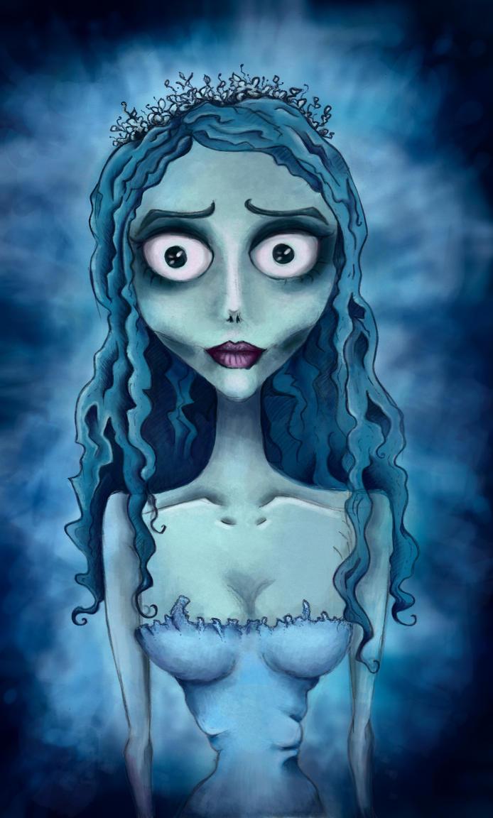 Tim Burton's Corpse Bride by Heldys on DeviantArt