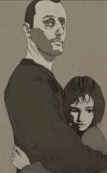Leon Le Professional And Matilda By Ellie Goldwine by Heldys