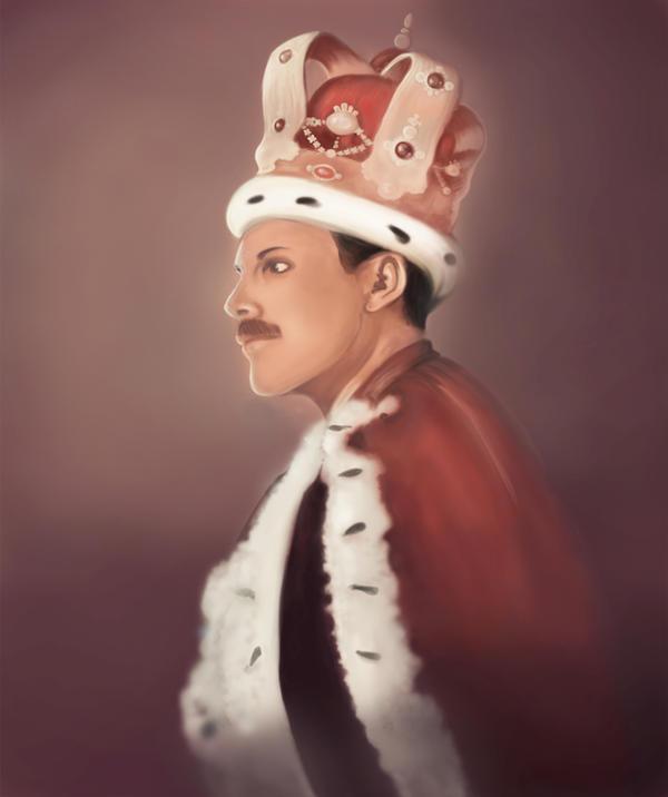 Freddie Mercury by Heldys