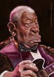 B.B.King caricature by jupa1128