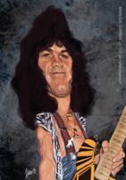 Van Halen caricature by jupa1128