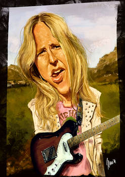 Lissie caricature