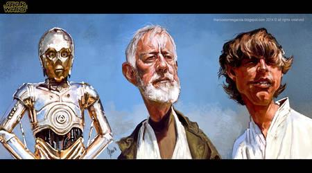 Star wars Obi-wan and friends...