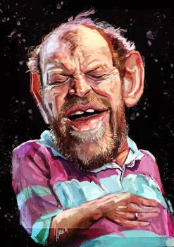 Joe Cocker caricature