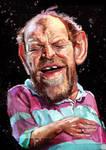 Joe Cocker caricature by jupa1128