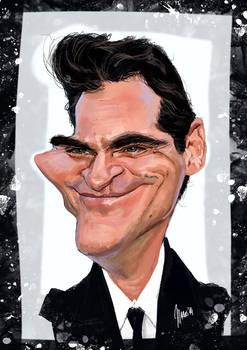 Joaquin Phoenix caricature