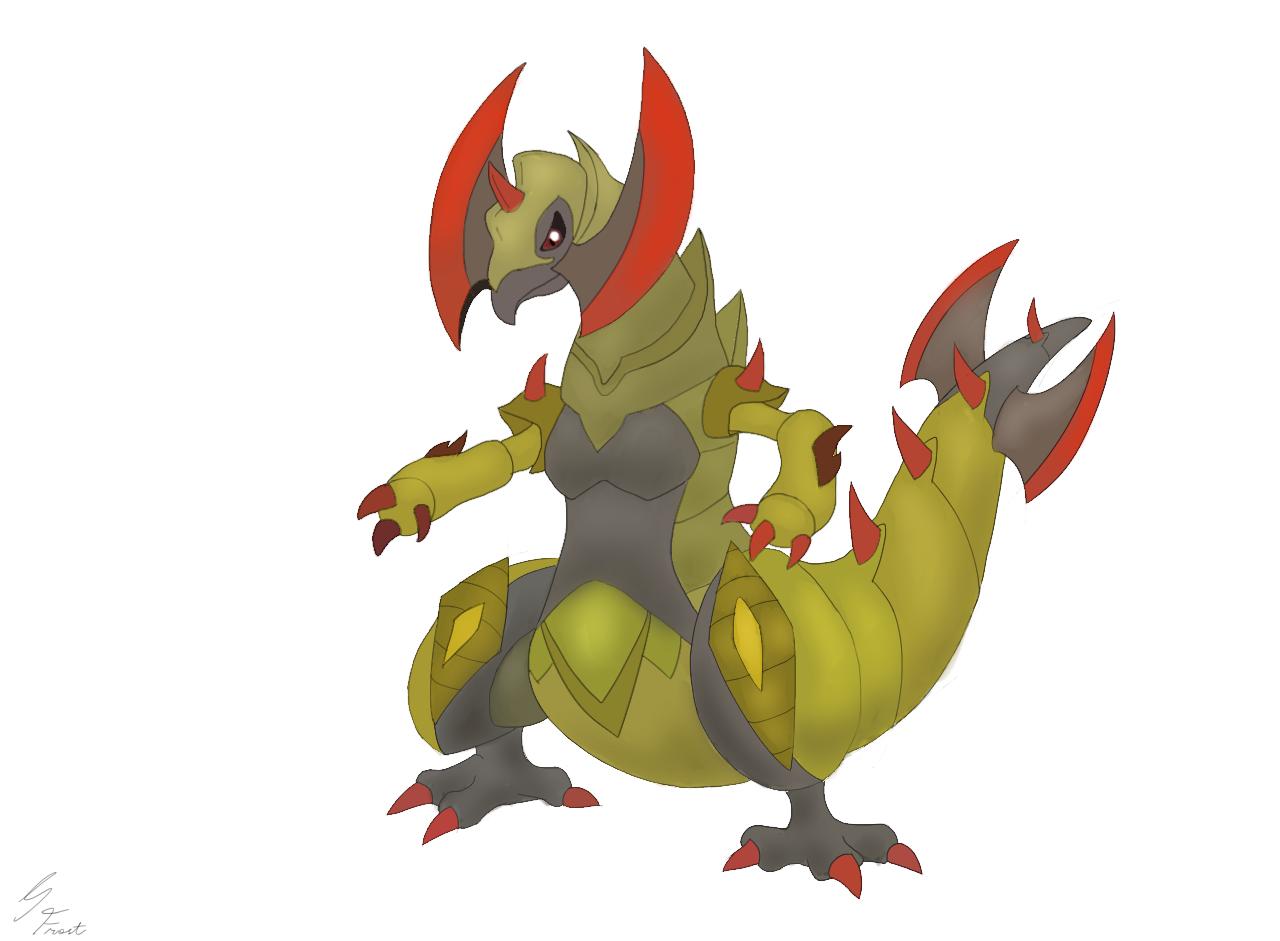 Pokemon mega evolution haxorus