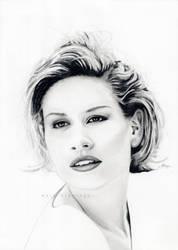 Portrait of Lauren Lane by marskueh