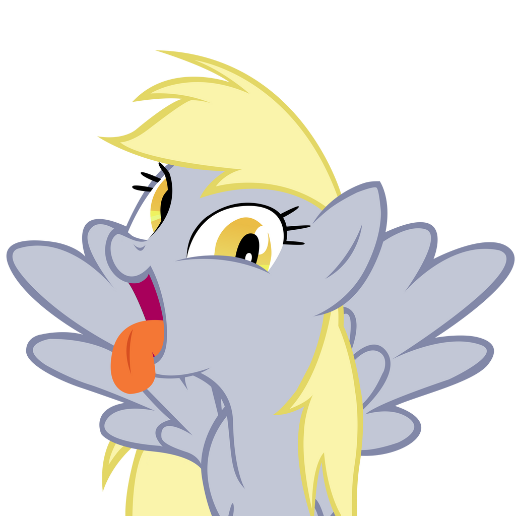 Derpy Hooves Scrunchy Face Derpy Hooves making a ...