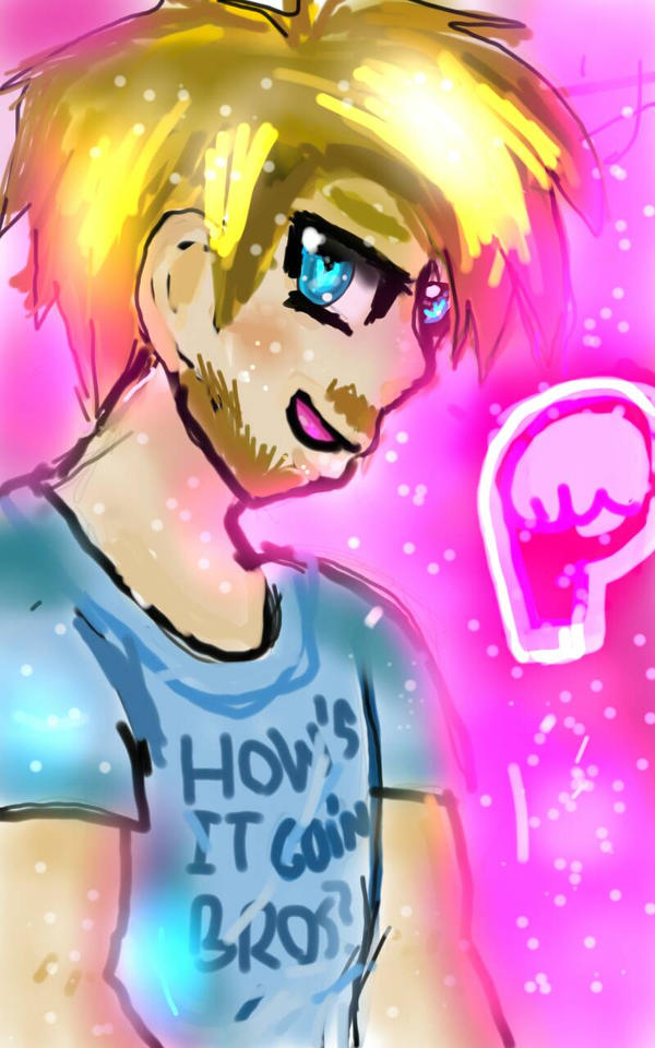 pewds! :3 by onehitpoint