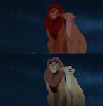 Simba and Nala Screenshot Clean Up - TLK2