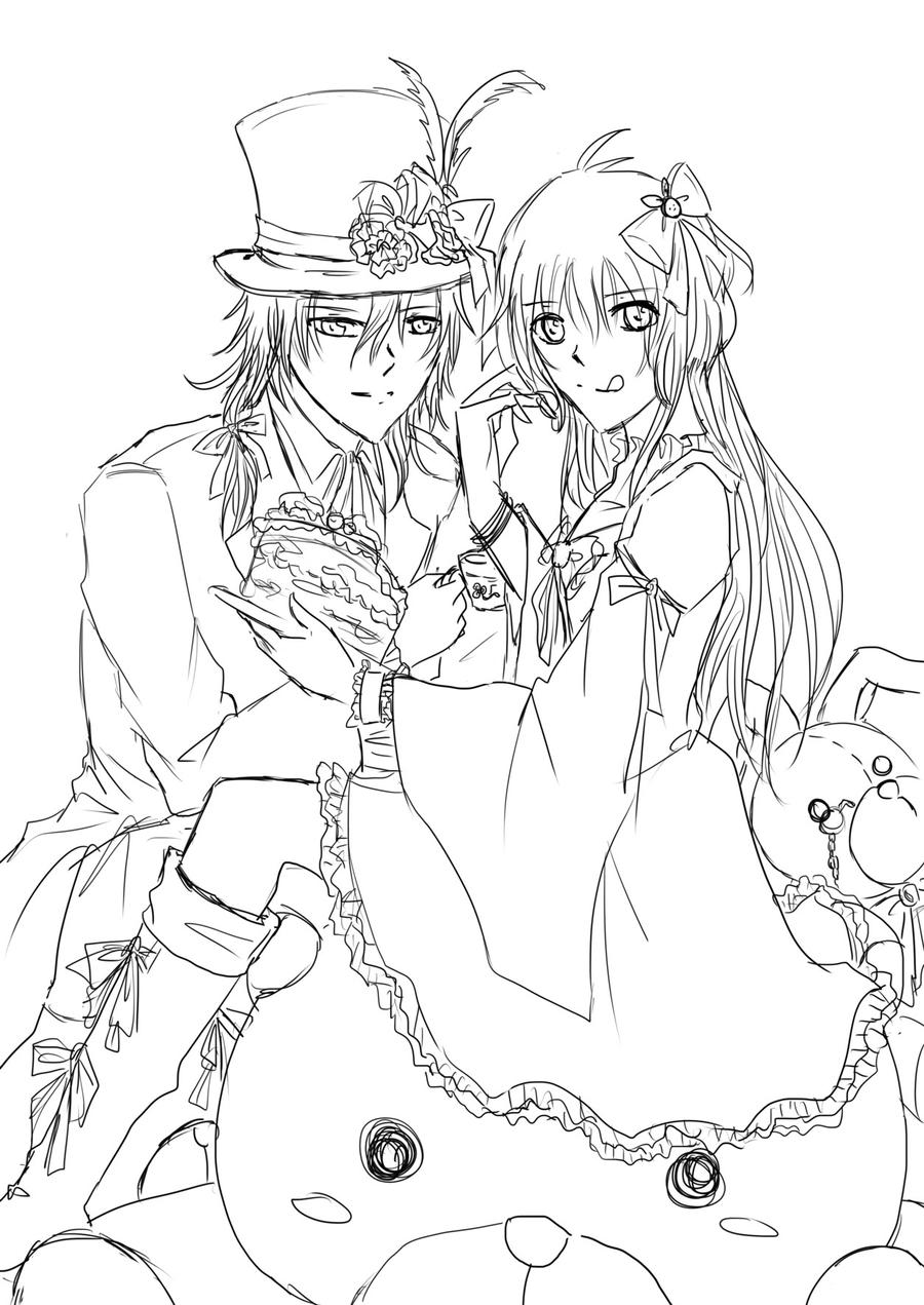 alice and mad hatter by shirayukihayame on deviantart