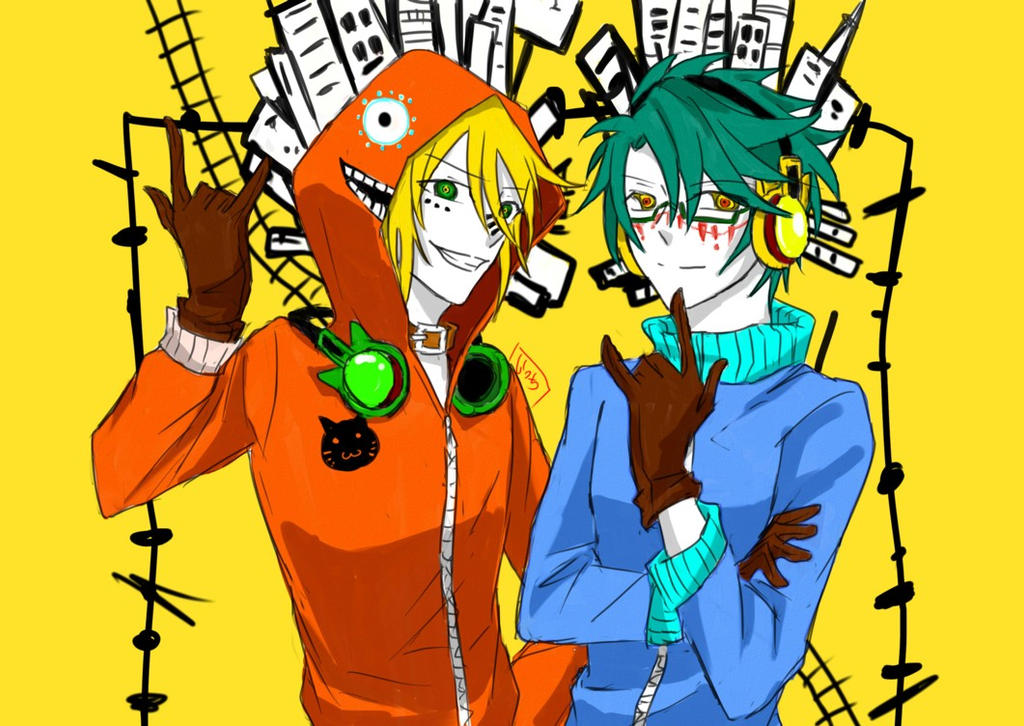 Matryoshka - OC version (Lucifer and Kurt) by ShirayukiHayame