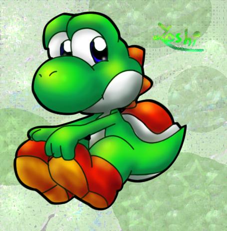 A green Yoshi by Foxeaf