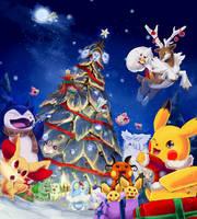 Pokemon Cheer by Foxeaf