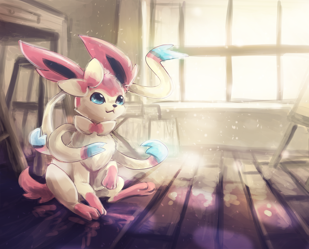 Sylveon by Foxeaf