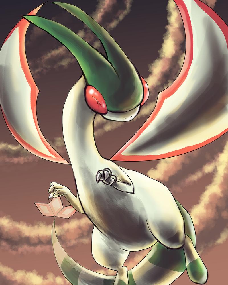 Flygon by Foxeaf