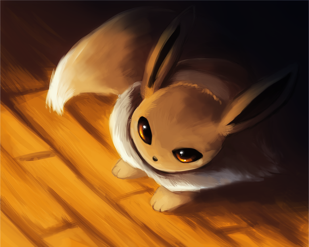 Eevee in the Light by Foxeaf