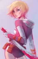 Gwenpool by Foxeaf