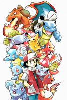 Original Red Pokemon by Foxeaf