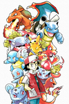 Original Red Pokemon