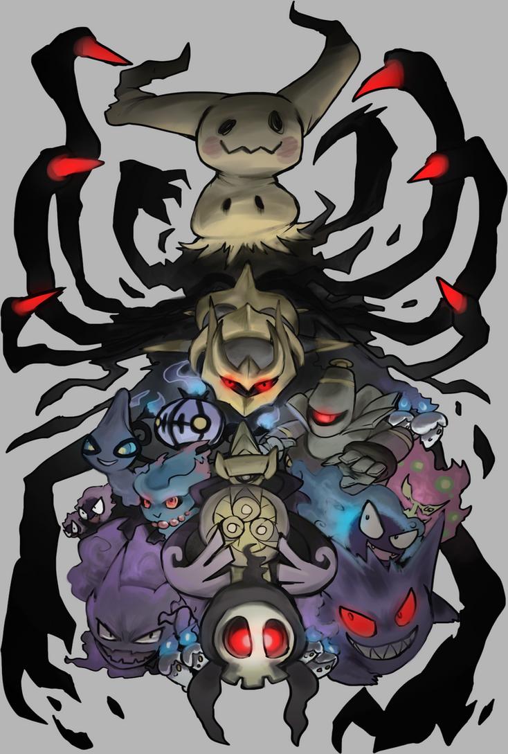 Ghost pokemon by foxeaf on deviantart - Pokemon ghost wallpaper ...