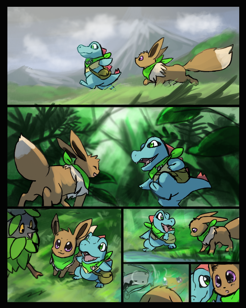 Into The Wild Graypaw Warriors: PMD Page 64 By Foxeaf On DeviantArt